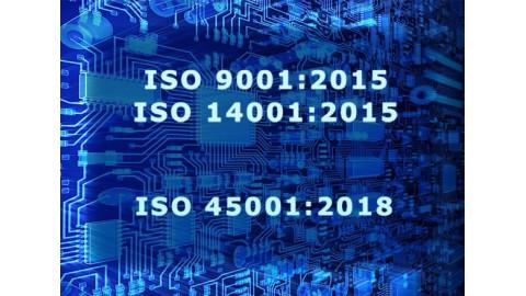 Alarmtech renewed the certificates ISO