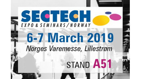 SECTECH EXPO Norway, 6-7 March 2019