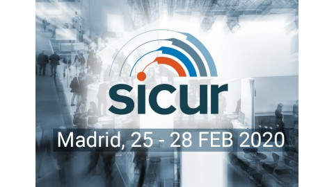 Visit us at SICUR Expo, Madrid, 25-28 Feb 2020