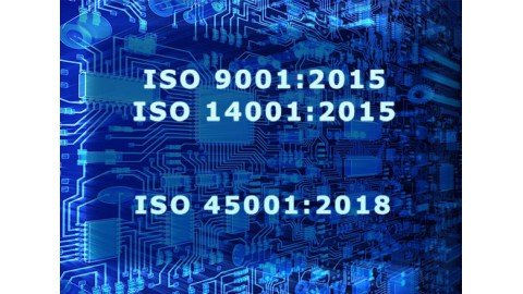 Alarmtech renewed the certificates ISO