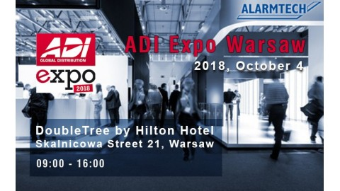 Visit us at ADI Expo in Warsaw