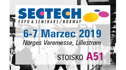 Targi SECTECH, Norwegia 6-7 Marca 2019