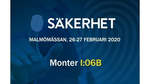 Odwiedź nas na targach Malmömässan, 26-27 luty 2020