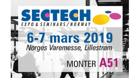 SECTECH EXPO Norge 6-7 Mars 2019