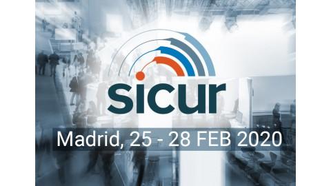 Besök oss på  SICUR, Madrid, 25-28 Februari *AVSLUTAD*