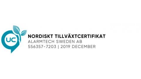 Nordiskt Tillväxtcertifikat från UC